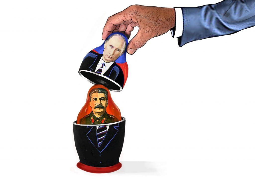 Stalin är störe än Putin